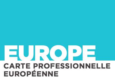 La carte professionnelle européenne des guides à l'épreuve des utilisateurs…